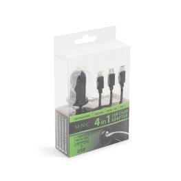 Adaptor pentru Bricheta 4 in 1 + USB - Negru