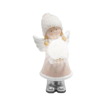 Figurina Ceramica cu LED - Fetita
