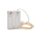 Ghirlanda Micro LED Alb Cald