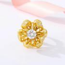 Inel Flower Bloom 24K