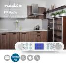 Radio FM de Bucatarie Montabil pe Dulap